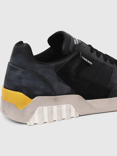 Diesel - S-RUA LOW90, Azul/Negro - Sneakers - Image 5