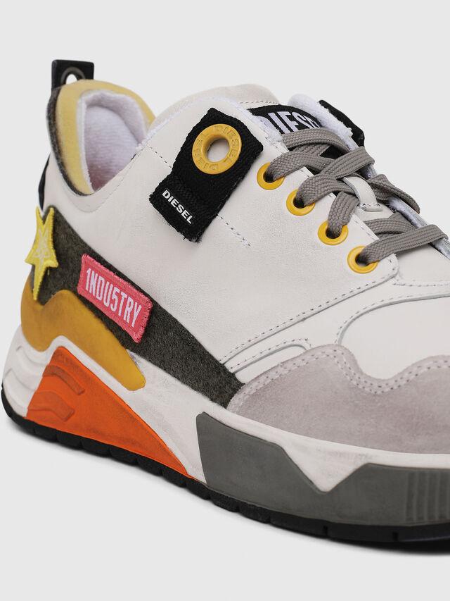 Diesel - S-BRENTHA LC VELCRO, Blanco - Sneakers - Image 5