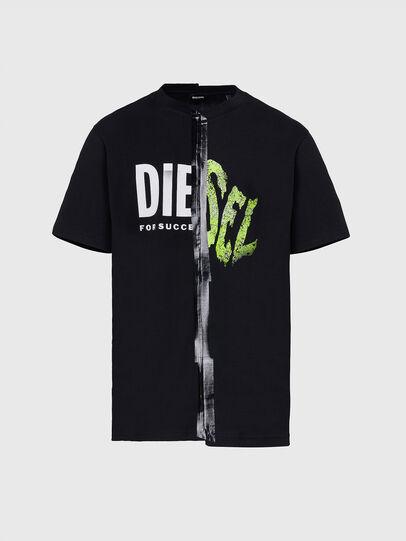 Diesel - T-JUBBLE-X2, Negro - Camisetas - Image 1