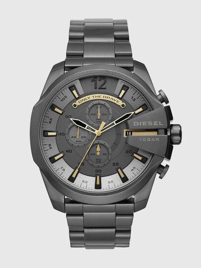 Diesel - DZ4466, Negro Opaco - Relojes - Image 1