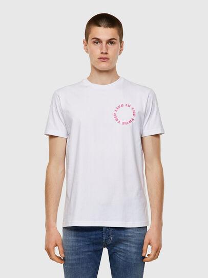 Diesel - T-DIEGOS-B7, Blanco - Camisetas - Image 1