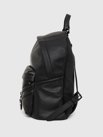 Diesel - LE-ZIPPER BACKPACK, Negro - Mochilas - Image 3