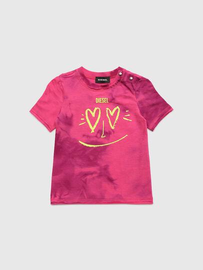 Diesel - TINTDB, Rosa - Camisetas y Tops - Image 1