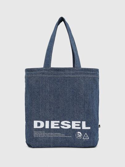 Diesel - F-THISBAG SHOPPER NS, Blanco/Azul - Bolsos Shopper y Al Hombro - Image 3