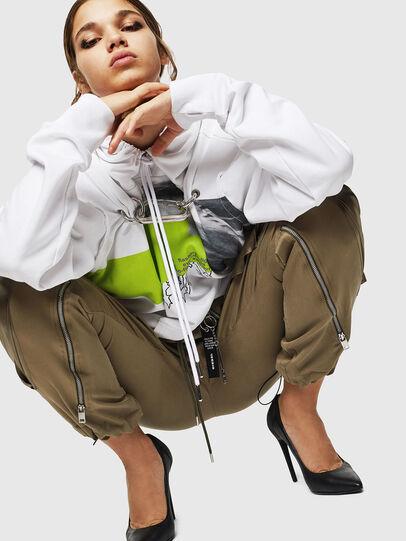 Diesel - P-LEX, Verde Militar - Pantalones - Image 4