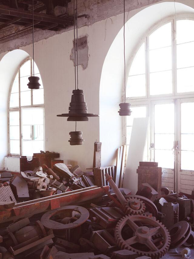 Living TOOL GRANDE SOSP, Negro - Lámparas de Suspensión - Image 4