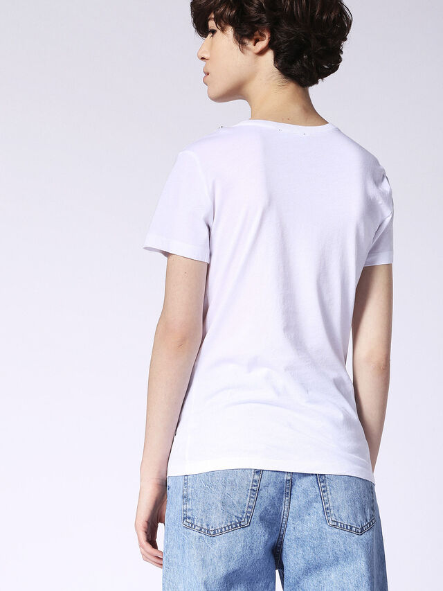 Diesel - T-SILY-F, Blanco - Camisetas - Image 3