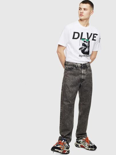 Diesel - T-JUST-T21, Blanco - Camisetas - Image 7