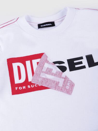 Diesel - TOQUEB MC-R, Blanco - Camisetas y Tops - Image 3