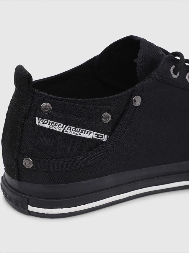 Diesel - EXPOSURE LOW I, Negro - Sneakers - Image 4