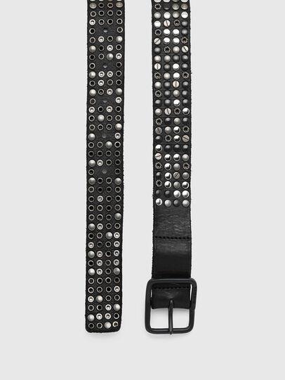 Diesel - B-GIO, Negro - Cinturones - Image 3