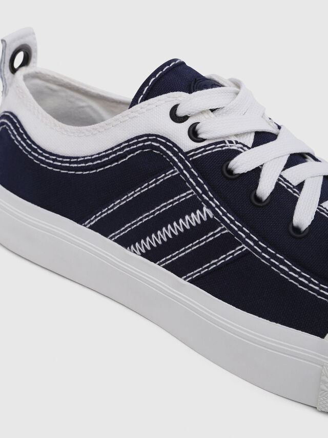 Diesel - S-ASTICO LOW LACE W, Azul/Blanco - Sneakers - Image 4