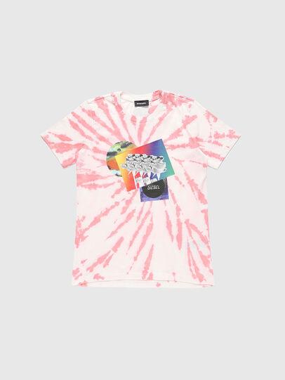 Diesel - TSILYTD, Rosa/Blanco - Camisetas y Tops - Image 1