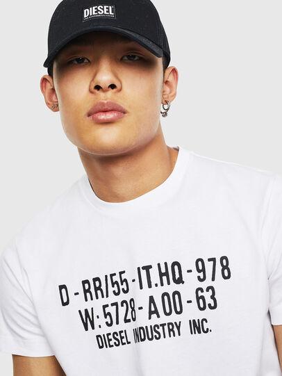 Diesel - T-DIEGO-S2, Blanco - Camisetas - Image 3