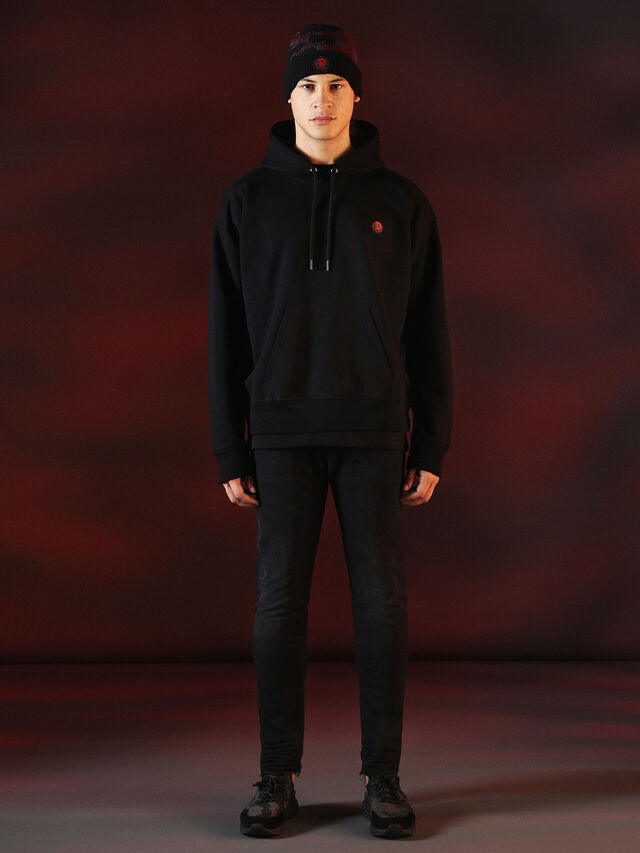 Diesel - DVL-SWEAT-SPECIAL COLLECTION, Negro - Sudaderas - Image 4