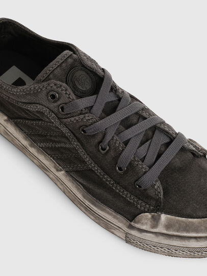 Diesel - S-ASTICO LOW LACE, Gris oscuro - Sneakers - Image 4
