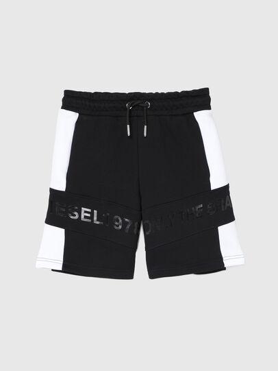 Diesel - PSHAM, Negro/Blanco - Shorts - Image 1