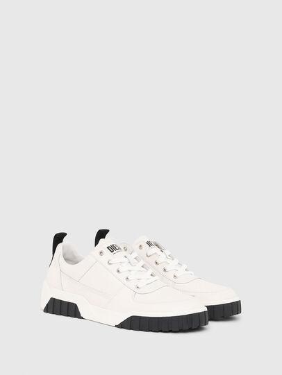 Diesel - S-RUA LOW, Blanco - Sneakers - Image 2