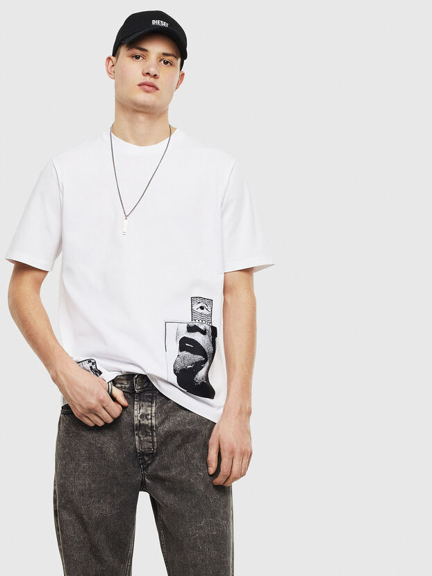 T-JUST-T18, Blanco - Camisetas