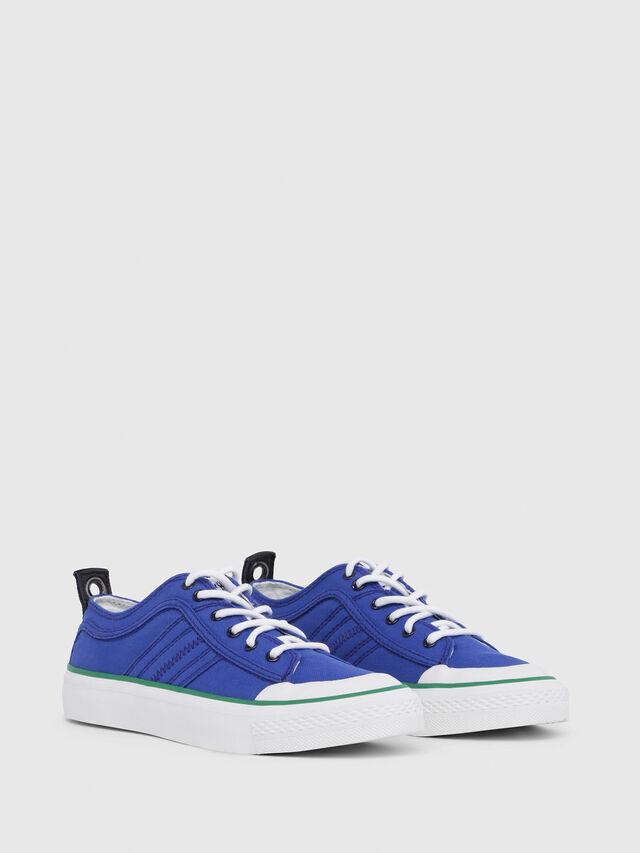 Diesel - S-ASTICO LC LOGO W, Azul Brillante - Sneakers - Image 2