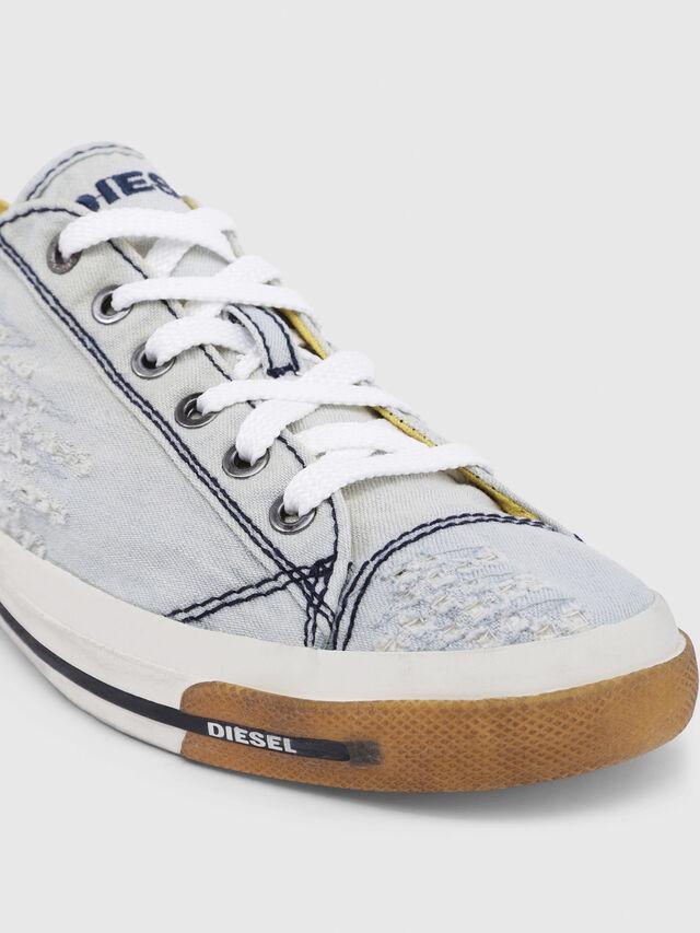 Diesel - EXPOSURE IV LOW  W, Azul Claro - Sneakers - Image 5