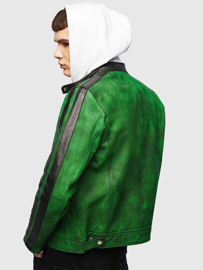 Diesel - L-BOY-A, Verde - Chaquetas de piel - Image 2