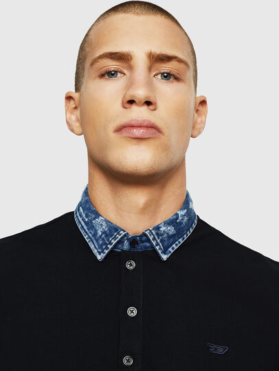 Diesel - T-MILES-NEW, Negro - Polos - Image 4