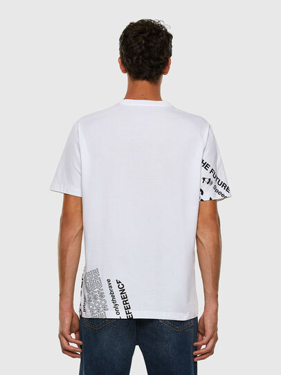 Diesel - T-JUST-FOLDED, Blanco - Camisetas - Image 7