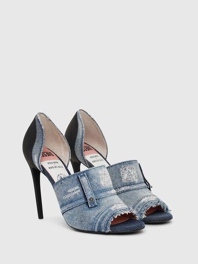 Diesel - SA-SLANTY OTD, Blue Jeans - Sandalias - Image 2