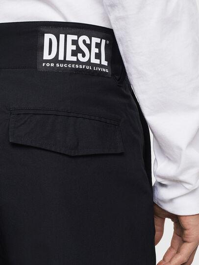 Diesel - P-COOLE, Negro - Pantalones - Image 4