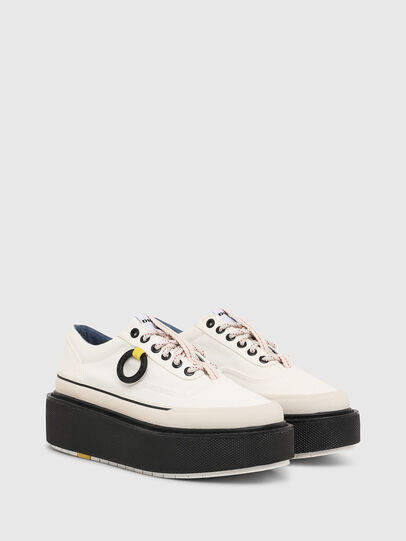 Diesel - H-SCIROCCO LOW, Blanco/Rosa - Sneakers - Image 2