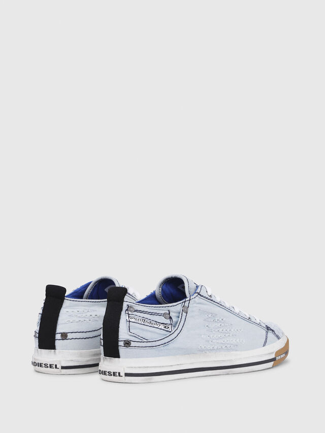 Diesel - EXPOSURE LOW I, Azul Claro - Sneakers - Image 3