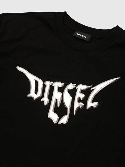 Diesel - TBOWLY, Negro - Camisetas y Tops - Image 3