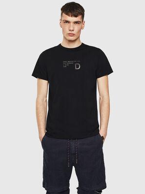 T-DIEGO-S5, Negro - Camisetas