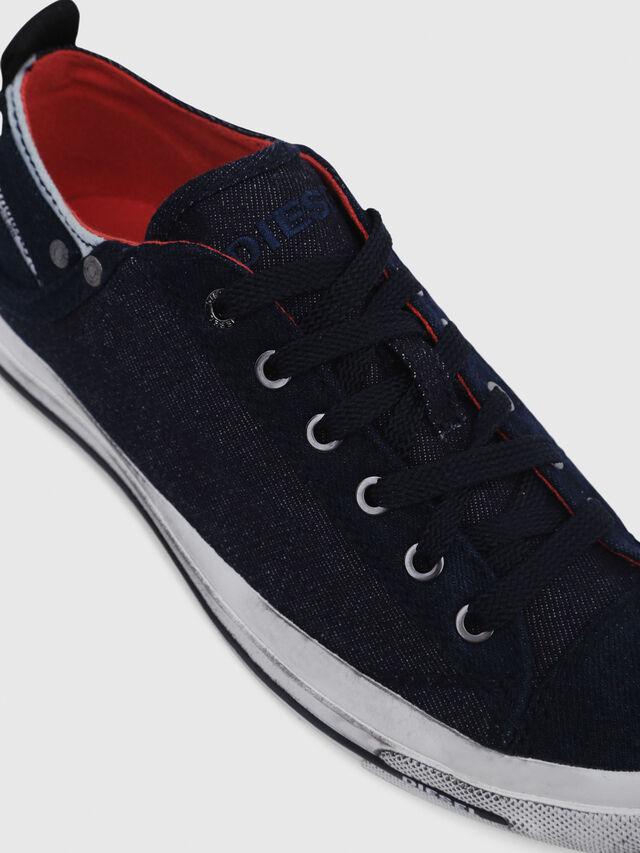 Diesel - EXPOSURE IV LOW  W, Azul Oscuro - Sneakers - Image 4