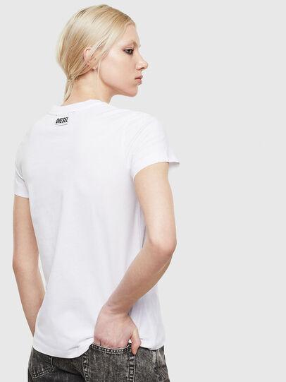 Diesel - T-SILY-S5, Blanco - Camisetas - Image 2