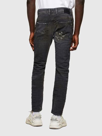 Diesel - Krooley JoggJeans® 069SX, Negro/Gris oscuro - Vaqueros - Image 2