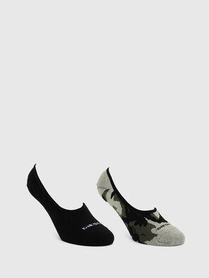 SKM-HIDEPAT-TWOPACK, Gris/Negro - Calcetines