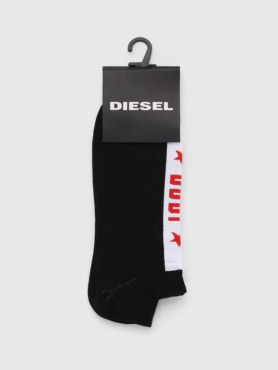 Diesel - SKM-GOST, Negro - Calcetines cortos - Image 2