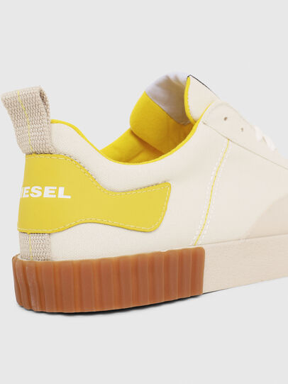 Diesel - S-BULLY LC, Blanco/Amarillo - Sneakers - Image 4
