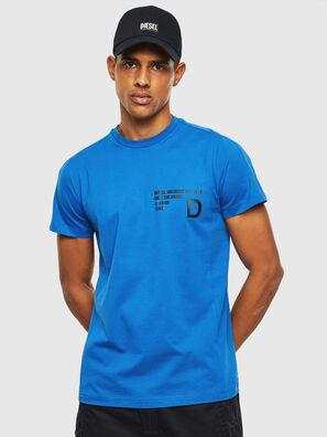 T-HOVER, Azul - Camisetas