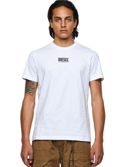 Diesel - T-DIEGOS-ECOSMALLOGO, Blanco - Camisetas - Image 1