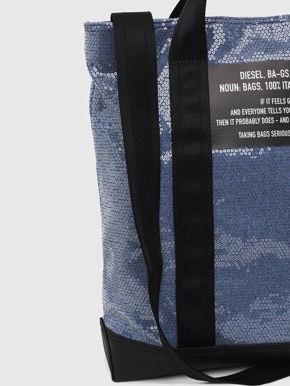 Diesel - F-THISBAG SHOWAY, Azul/Negro - Bolsos Shopper y Al Hombro - Image 4