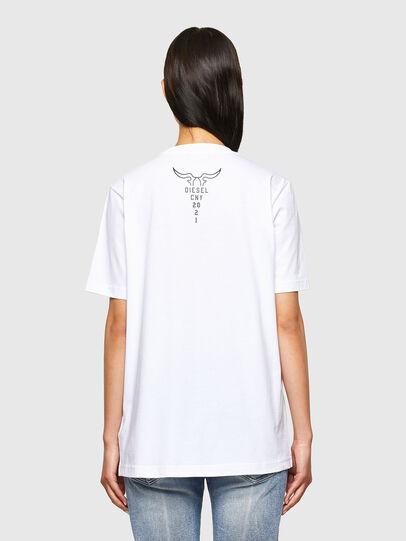 Diesel - CL-T-JUST-O, Blanco - Camisetas - Image 4