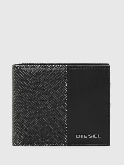 Diesel - HIRESH S, Negro/Blanco - Monederos Pequeños - Image 1