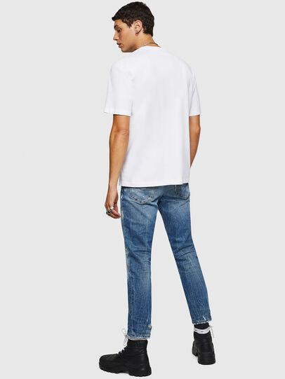 Diesel - T-JUST-B25, Blanco - Camisetas - Image 2