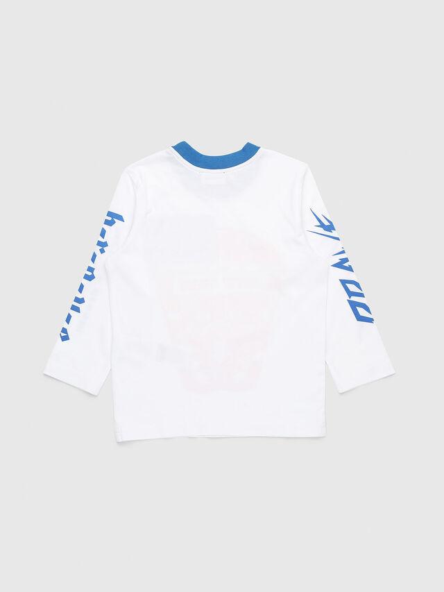 Diesel - TENNUB-R, Blanco/Rojo/Azul - Camisetas y Tops - Image 2