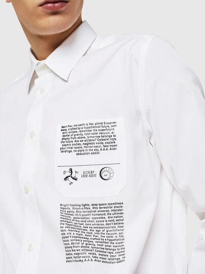 Diesel - S-VEN-PRINT, Blanco - Camisas - Image 2