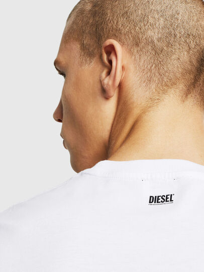 Diesel - T-DIAMANTIK-NEW, Blanco - Camisetas - Image 3