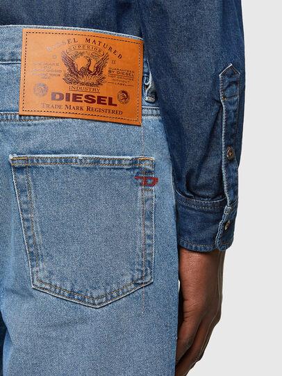 Diesel - D-STRUKT-SHORT, Azul Claro - Shorts - Image 4